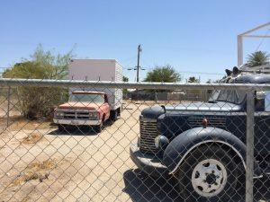 Die scheinen schon länger da geparkt zu sein